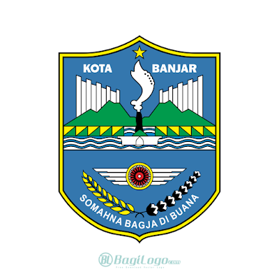 Kota Banjar Logo Vector