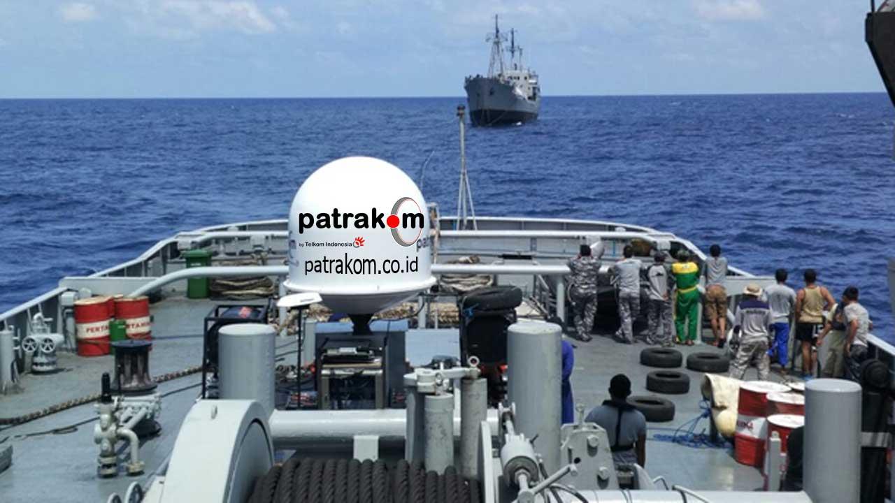Internet Untuk Kapal Laut Patrakom
