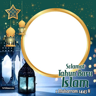 Twibbon 1 Muharram 1443 H CDR