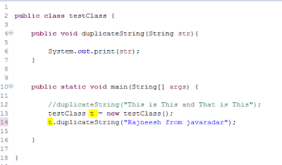 can we call non static method from static method in java by javaradar