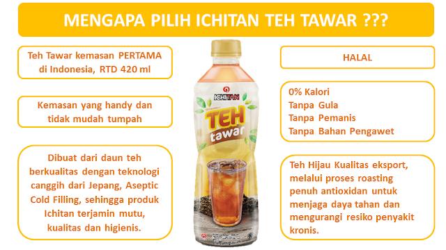 ichitan teh tawar, manfaat teh tawar untuk kesehatan