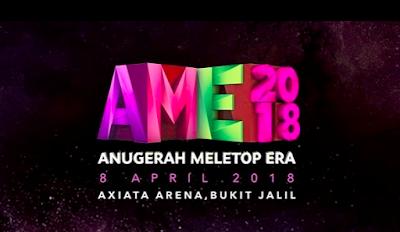 Senarai Calon Top 5 Anugerah Meletop ERA 2018