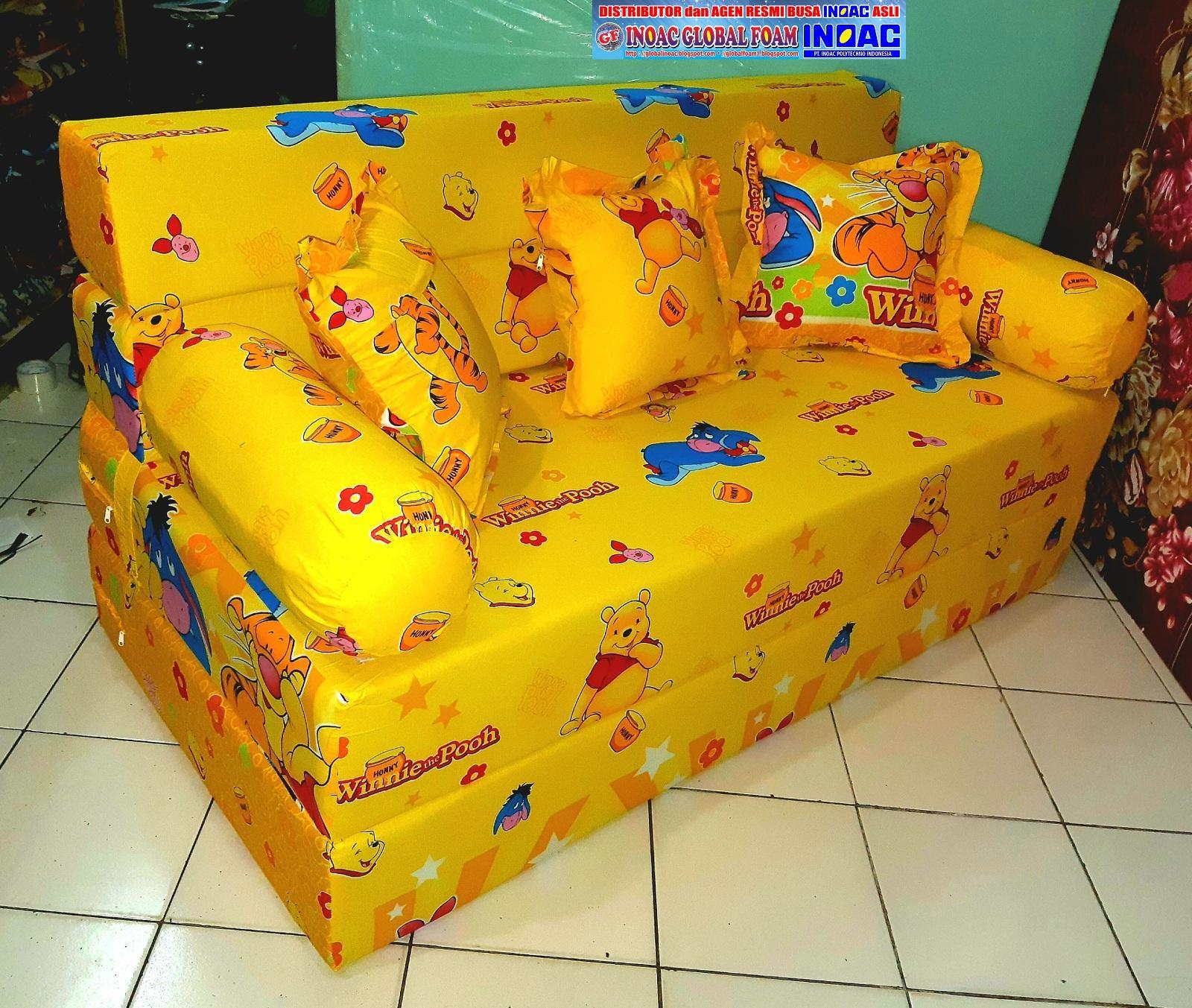 Harga Sofa Bed Inoac No 1 Mirror Table Kasur 2018 Distributor Busa Asli Global