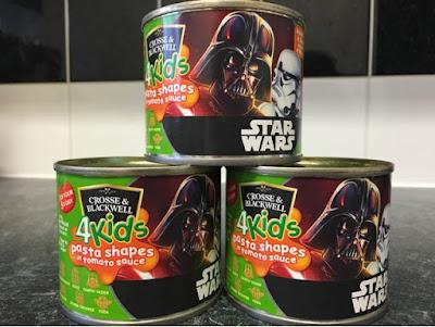 Star Wars 4Kids Pasta Shapes Tin