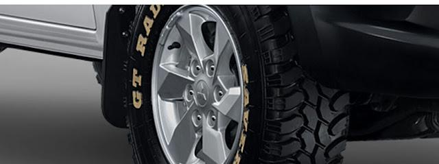 Alloy wheel All New Triton Hdx