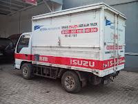 ISUZU NKR 55 CC + BOX BENGKEL