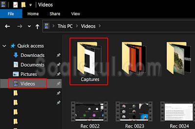 langkah 8 cara merekam layar gmeet dengan aplikasi bawaan laptop