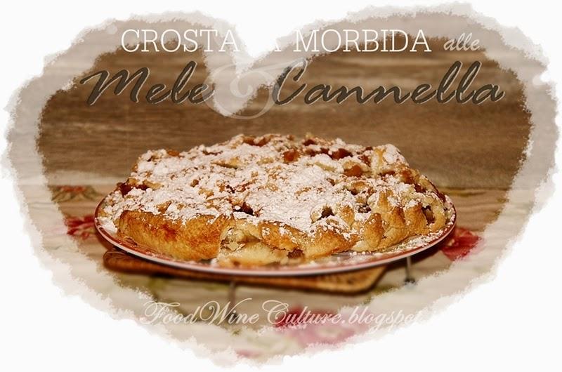 Crostata Morbida al Profumo di Mela e Cannella