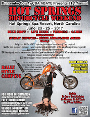 Hot Springs Motorcycle Weekend