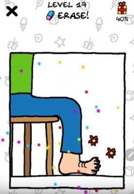 Jawaban Just Draw Erase Level 17