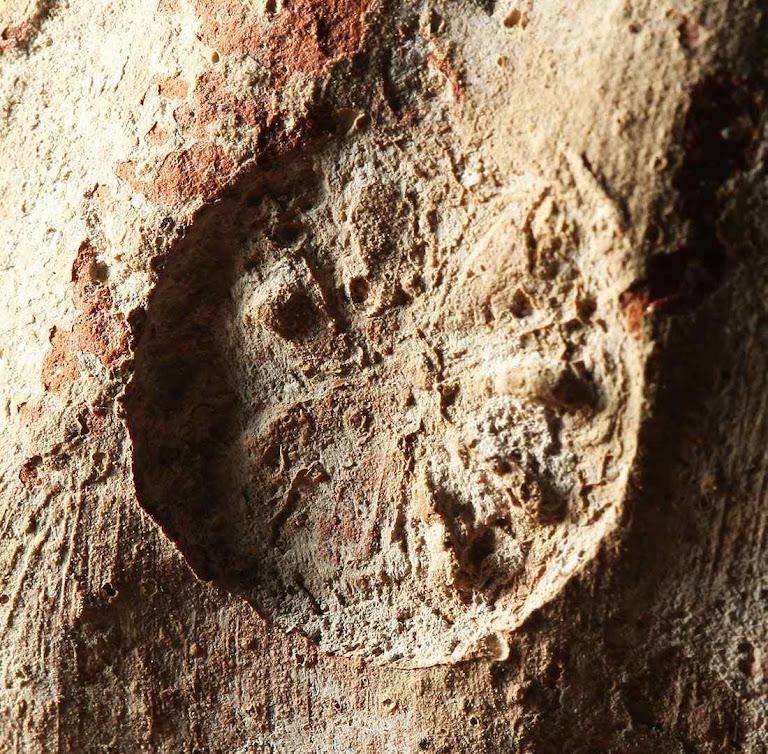 Selo com desenho da roseta, usado no tempo da destruição do primeiro Templo