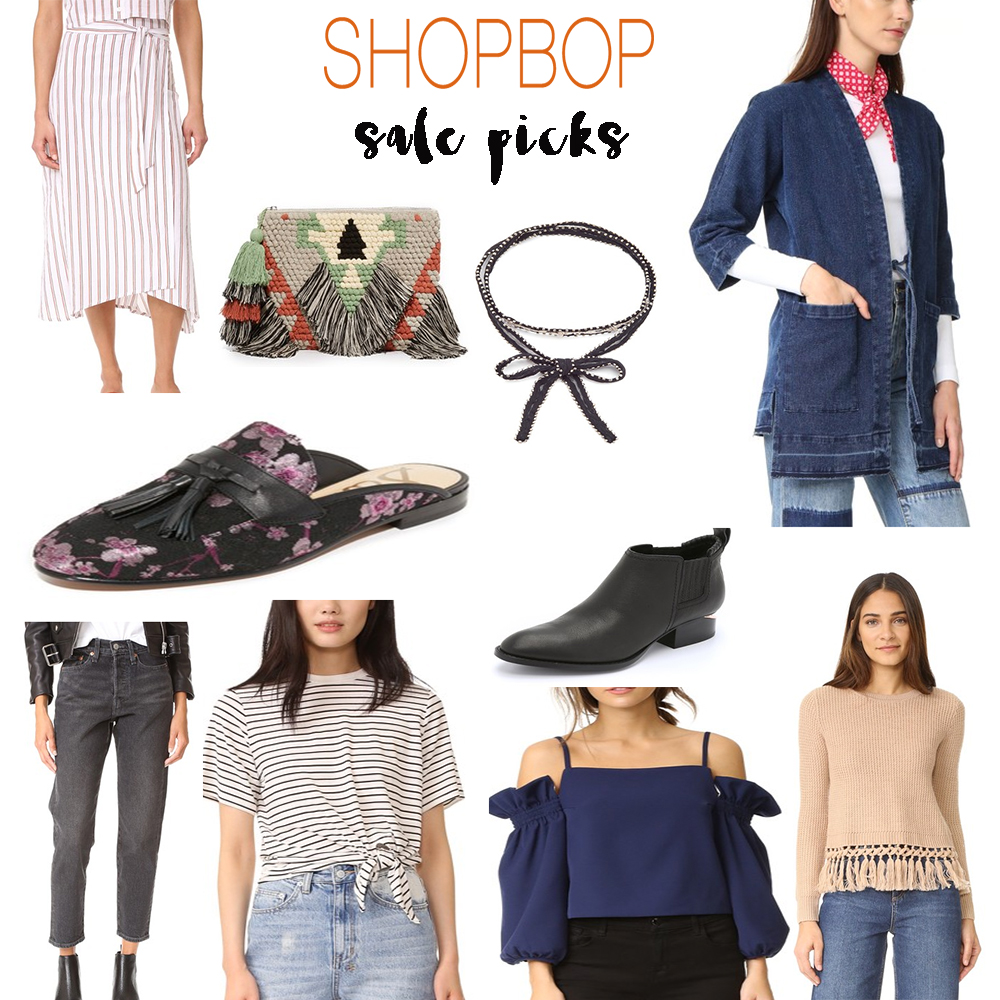 Shopbop sale blogger picks covet and acquire spring trends 2017