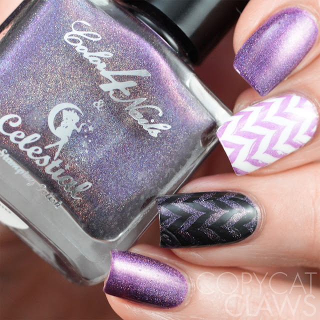 Color4Nails + Celestial Cosmetics Holographic Stamping Polish - Orchid