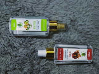 Review Hand Sanitizer Spray MyKonos 125 ml Rouge & Royal Pear