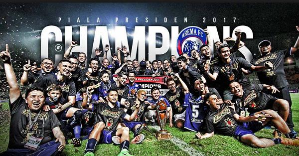 Bukan Persib atau MU, Arema FC Sebut Persipura dan Semen Padang Pesaing Utama