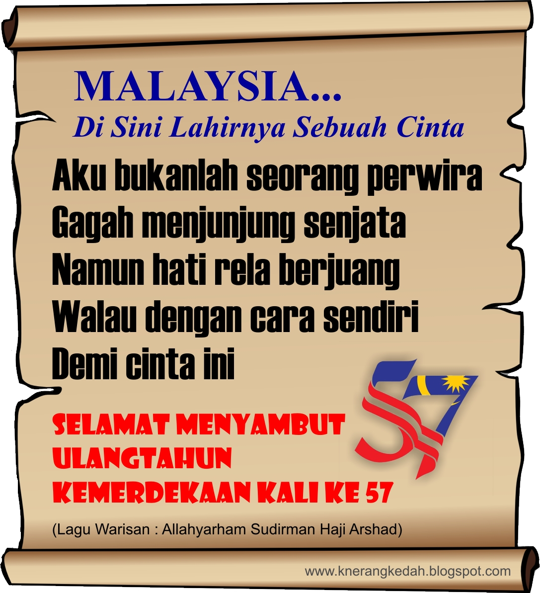 Kata Kata Semangat Kemerdekaan Malaysia 2018 Cikimm Com