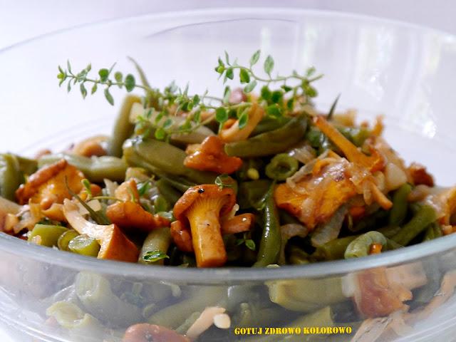 Fasolka szparagowa z kurkami - Czytaj więcej »