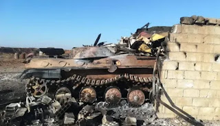 Pasukan Turki Hancurkan Kendaraan Militer Milik Rezim Syiah Nushairiyah