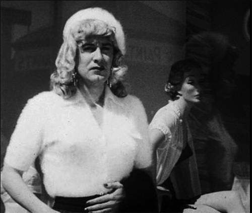 Ed Wood femulating in the 1953 film Glen or Glenda