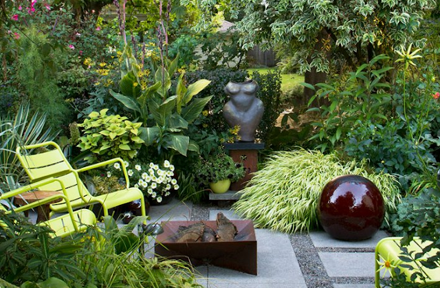 BACKYARD DESIGNS ADDING INTEREST TO LANDSCAPING IDEAS