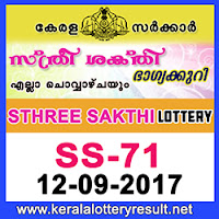 KERALA LOTTERY, kl result yesterday,lottery results, lotteries results, keralalotteries, kerala lottery, keralalotteryresult, kerala lottery result, kerala lottery result live, kerala lottery results, kerala lottery today, kerala lottery result today, kerala lottery results today, today kerala lottery result, kerala lottery result 12-9-2017, Sthree Sakthi lottery results, kerala lottery result today Sthree Sakthi, Sthree Sakthi lottery result, kerala lottery result Sthree Sakthi today, kerala lottery Sthree Sakthi today result, Sthree Sakthi kerala lottery result, STHREE SAKTHI LOTTERY SS 71 RESULTS 12-9-2017, STHREE SAKTHI LOTTERY SS 71, live STHREE SAKTHI LOTTERY SS-71, Sthree Sakthi lottery, kerala lottery today result Sthree Sakthi, STHREE SAKTHI LOTTERY SS-71, today Sthree Sakthi lottery result, Sthree Sakthi lottery today result, Sthree Sakthi lottery results today, today kerala lottery result Sthree Sakthi, kerala lottery results today Sthree Sakthi, Sthree Sakthi lottery today, today lottery result Sthree Sakthi, Sthree Sakthi lottery result today, kerala lottery result live, kerala lottery bumper result, kerala lottery result yesterday, kerala lottery result today, kerala online lottery results, kerala lottery draw, kerala lottery results, kerala state lottery today, kerala lottare, keralalotteries com kerala lottery result, lottery today, kerala lottery today draw result, kerala lottery online purchase, kerala lottery online buy, buy kerala lottery online