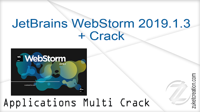 JetBrains WebStorm 2019.1.3 + Crack   |   200 MB