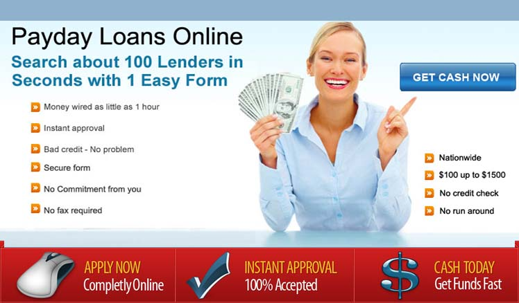 Get A Payday Loans - No Credit Check, Bad Credit OK!