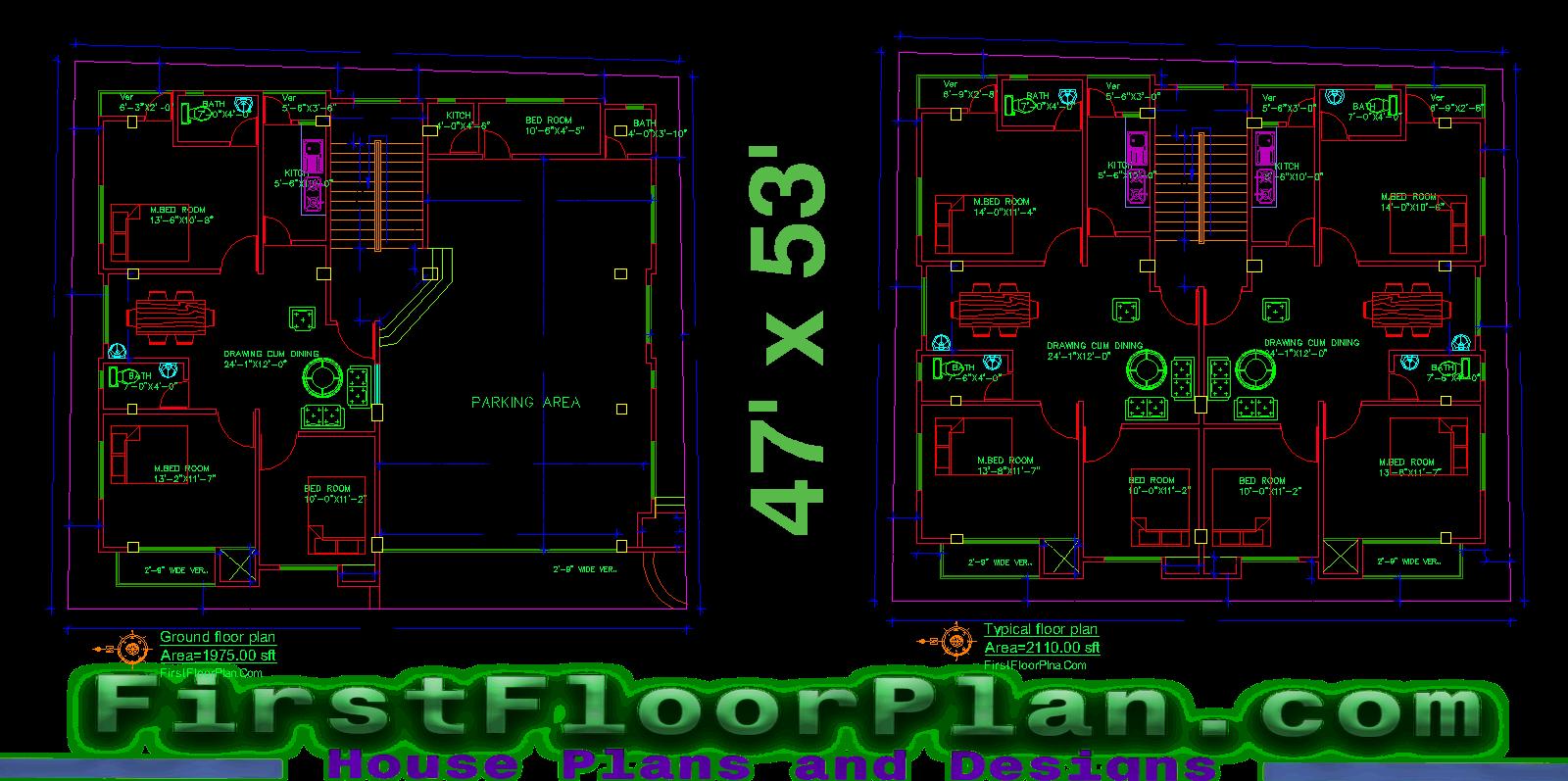 4 Story Apartment Building Plans