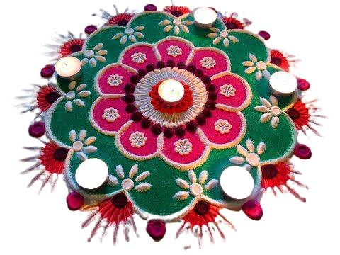 diya latest rangoli designs