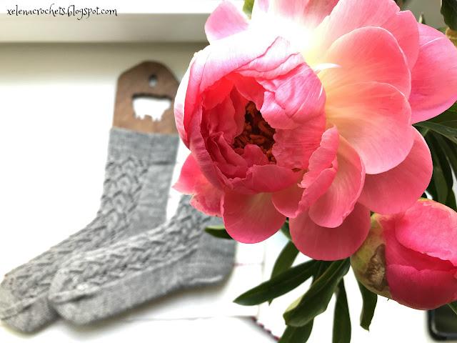 носки спицами носочная пряжа бесплатный дизайн