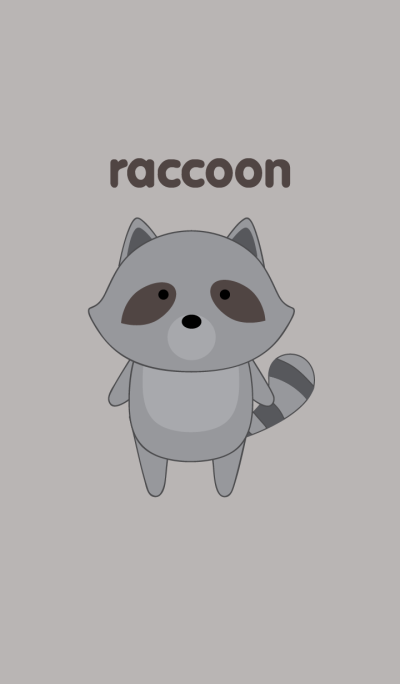 Simple raccoon theme
