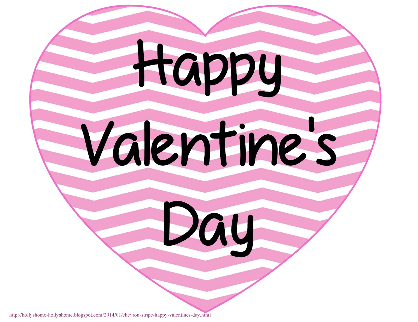 Hollyshome Family Life Chevron Stripe Happy Valentine S
