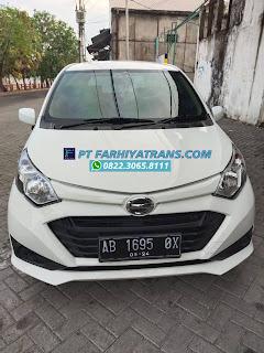 Kirim mobil Daihatsu Sigra Yogyakarta ke Bontang Kalimantan Timur dengan kapal roro dan driving melalui Pelabuhan Tanjung Perak Surabaya, estimasi pengiriman 4 hari.