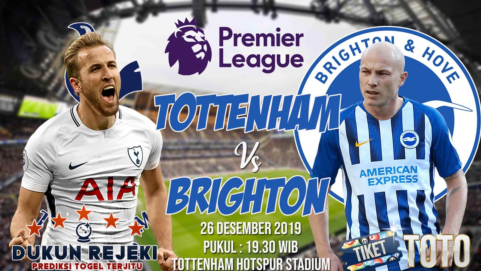 Prediksi Tottenham Hotspur vs Brighton 26 Desember 2019