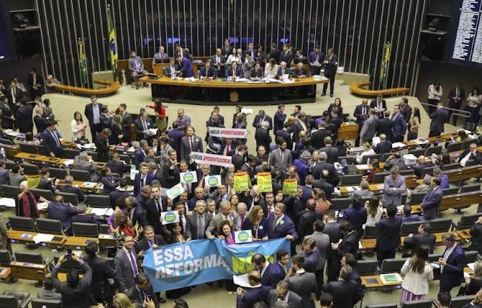 Ao vivo: deputados votam reforma da Previdência em plenário