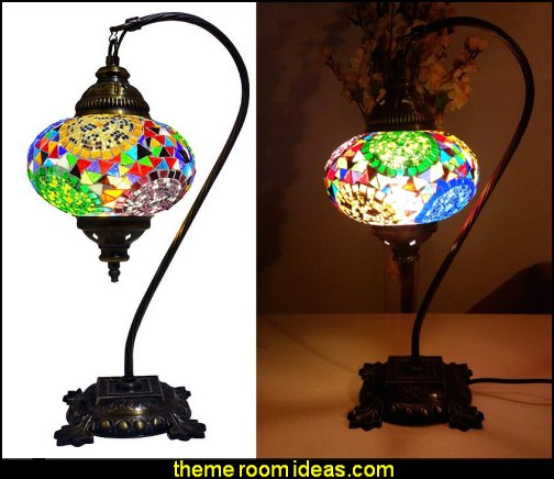 Moroccan Mosaic Table Lamps Moroccan decorating ideas - Moroccan decor - Moroccan furniture - decorating Moroccan style - Moroccan themed bedroom decorating ideas - Exotic theme decorating - Sultans Palace - harem style bedrooms Arabian nights Moroccan bedroom furniture - moroccan wall decoration ideas