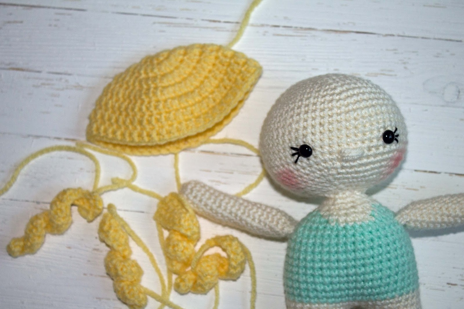 How To Add Doll Hair With Yarn - Eve Gonk - Hooked On Patterns | 1066x1600