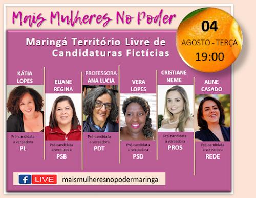 """Live do movimento """"Mais Mulheres no Poder"""". Café com Jornalista"""