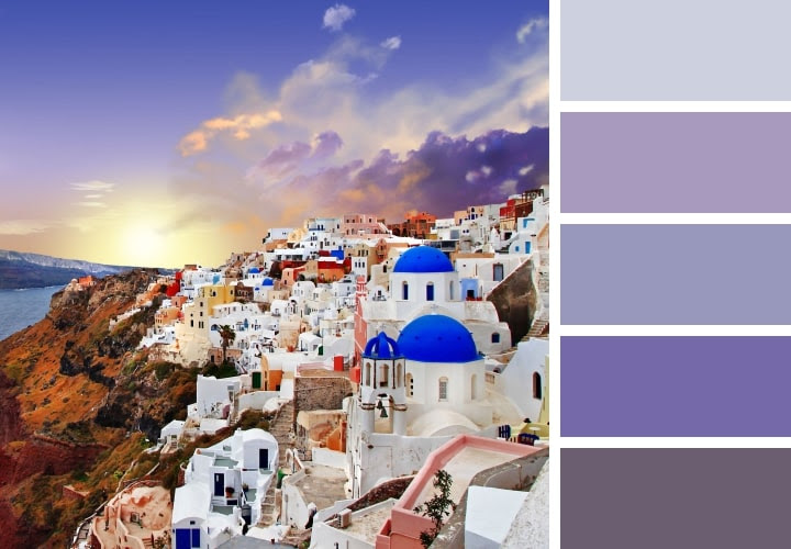 Santorini Color Palette