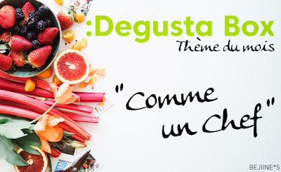 """Unboxing DegustaBox """"Comme un Chef"""""""