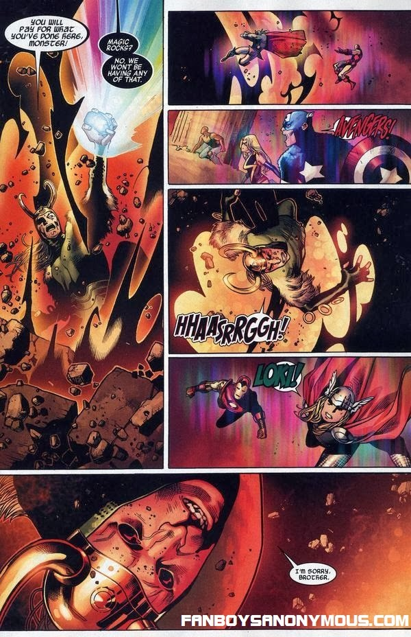Loki's death in Marvel Siege to protect the Asgardian city