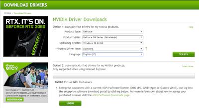 3 Penyebab Anda Gagal Instal Driver Nvidia