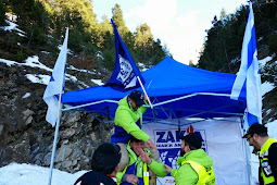 Voluntários da ZAKA chegam aos Alpes franceses para ajudar nas buscas de corpos das vítimas do acidente