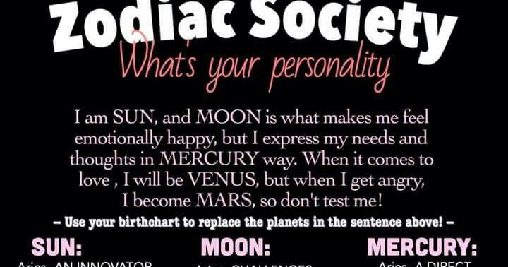How To Find Your Venus And Mars Signs