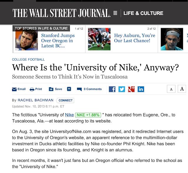c92c58b8 University of Nike switches sides, again.