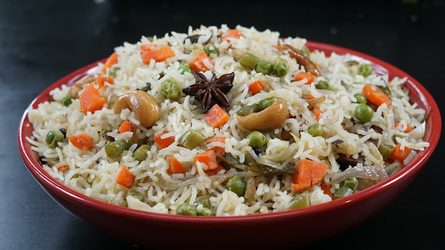 Homemade veg pulao
