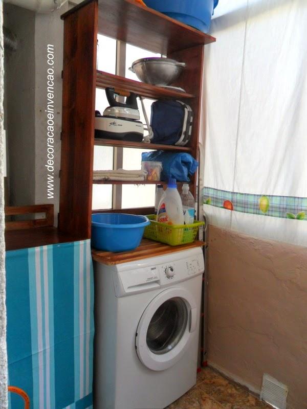 Ajeitando a lavanderia de casa
