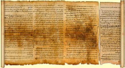 Resultado de imagem para o manuscrito do mar morto