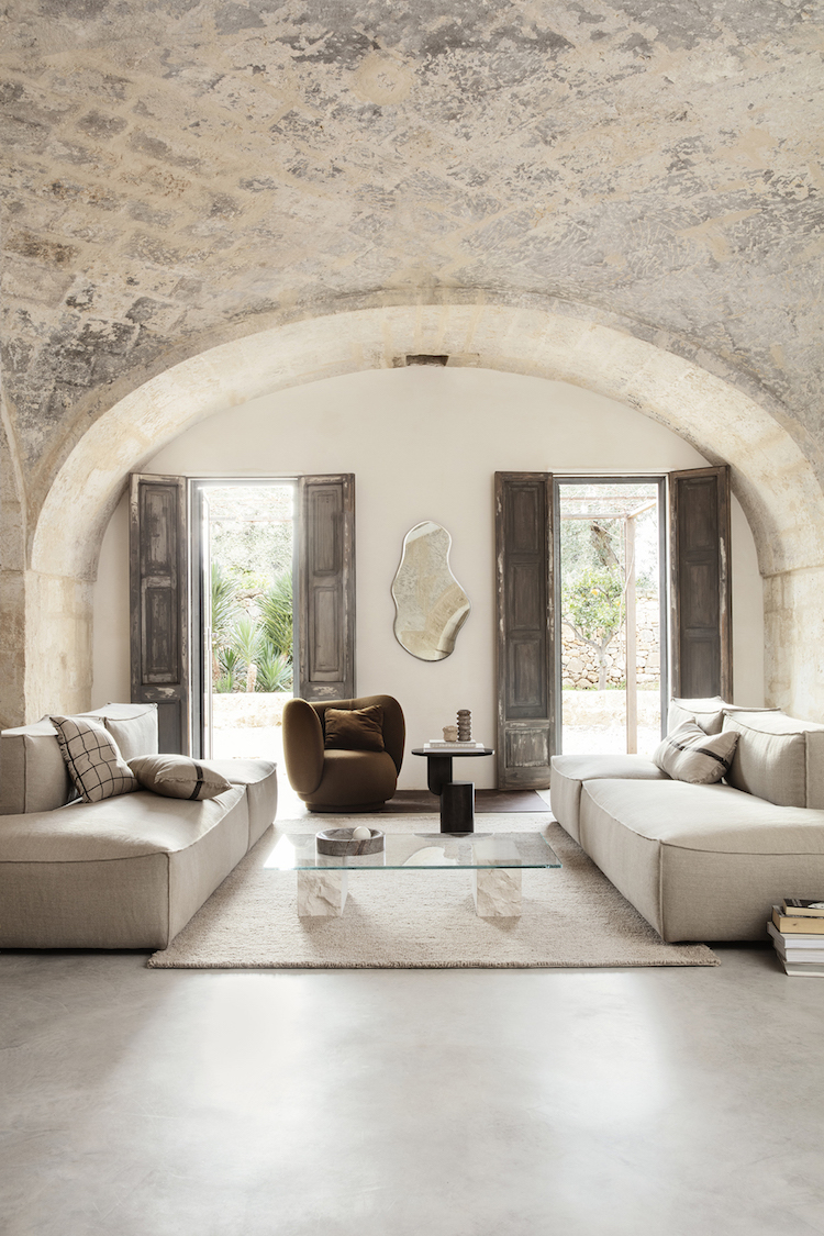 Contemporary Danish Design Meets Rustic in A Fabulous House In The Med