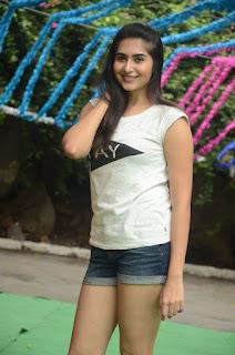 Vyoma Nandi sexy Pictures hot legs thighs inn shorts at Marula telupana priya movie unit haritha haram